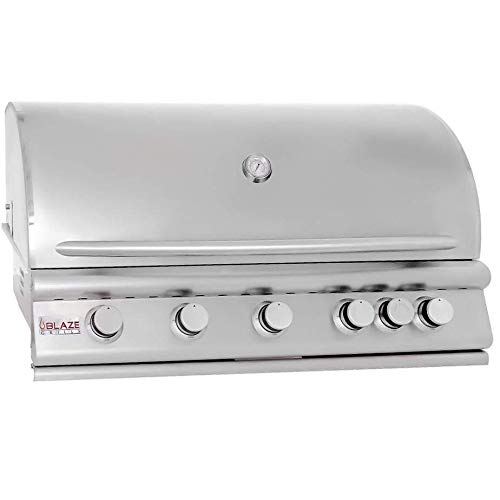 5 Burner Built Grill Infrared Burner