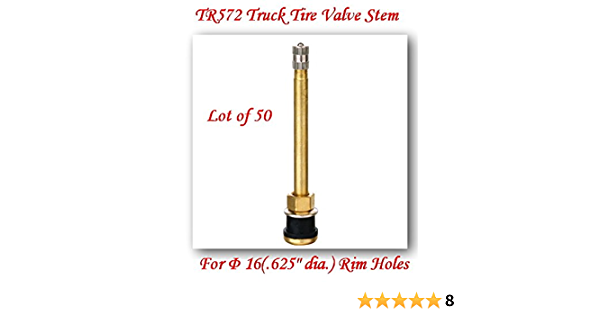 Tire & Wheel Tools Dolity 10pcs TR572 Tubeless Straight Truck Tire ...
