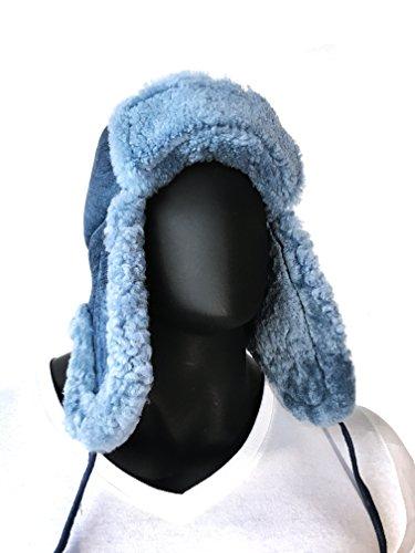 Russian Style Sheepskin shearling warm winter hat