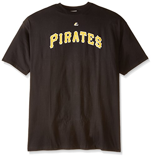 MLB Pittsburgh Pirates Men's Team Wordmark Tee, 3X-Large Tall
