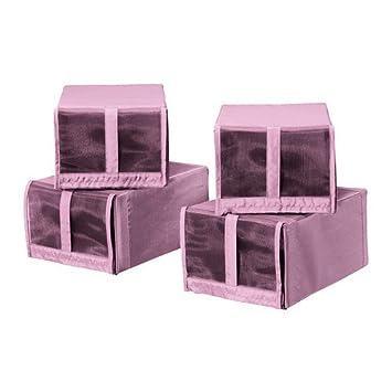 De es Ikea 22x34x16 Skubb ZapatosRosa 4 CmAmazon Pack Caja sQthrCd
