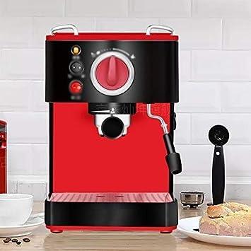 MJY Cafeteras Máquina de café semiautomática Máquina de café ...