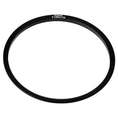 Fotodiox Pro 100mm Filter System 95mm Threaded Lens Adapter Ring - fits Fotodiox Pro 100mm Filter Holder and Cokin Z-Pro (L) Series Filter Holder by Fotodiox