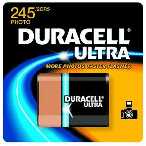 Ultra High Power Lithium Battery, 245, 6V by Duracell