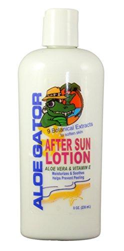Aloe Gator After Sun Lotion, 8 Ounce