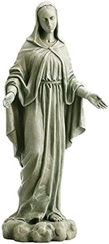 Avalon Gallery Our Lady of Grace Resin Garden Statue Figurine
