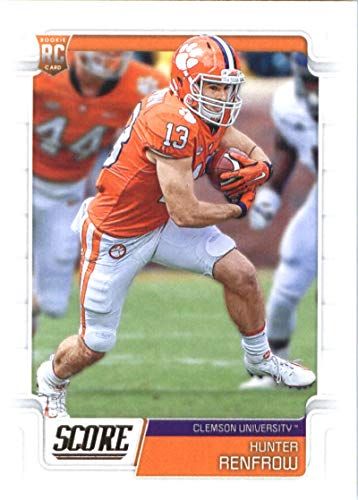 2019 Score #385 Hunter Renfrow Rookie NFL Football Card NM-MT