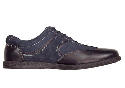Gino Valentino Menns Gå Kart Skinnsko Mote Sneaker Navy