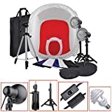 New Photo Studio Tent Cube In Light Box Professional Tripod Kit