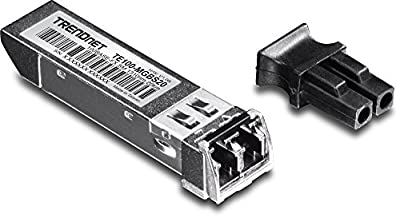 TRENDnet 100Base-FX SFP Single-Mode LC Module, Up to 20 km, TE100-MGBS20