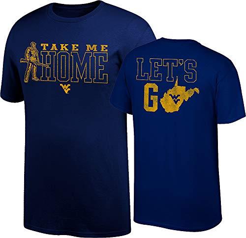 WVU West Virginia Mountaineers Official Fan Tshirt - L - ()