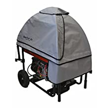 GenTent Safety Canopies 10k Running Safety Cover for Portable Generators - Universal Fit in GreySkies