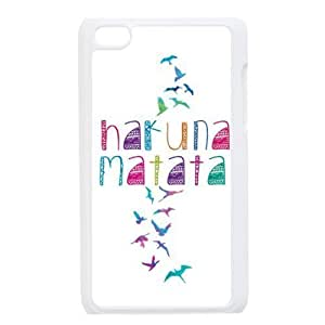 Colorful Free Birds Freedom Hakuna Matata Hard PC Cover Case for iPod Touch 4, 4G (4th Generation) by heywan