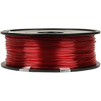 Inland 1.75mm Translucent Magenta PETG 3D Printer Filament - 1kg Spool (2.2 Lbs)