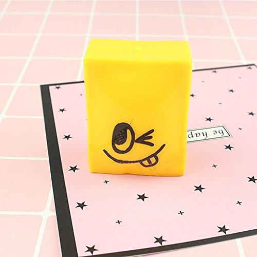 Bobury Gâteau Squishy sourire tofu visage Sueeze Toy cadeau d'enfant Pain Anti Stress Relief Gadget Geek Prank