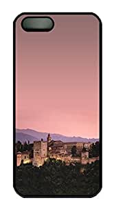 iPhone 5 5S Case Alhambra of Granada, Spain PC Custom iPhone 5 5S Case Cover Black by Maris's Diary