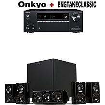Onkyo TX-NR787 9.2 Channel Network A/V Receiver Black + Klipsch HDT-600 Home Theater System Bundle