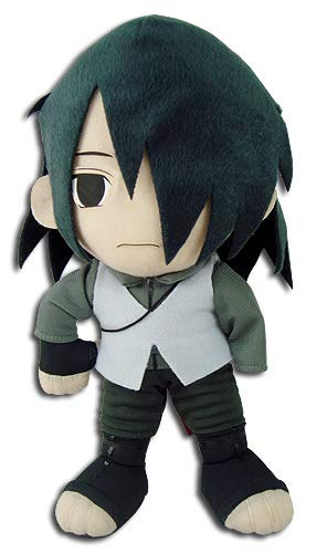GE Animation Boruto Naruto The Movie Sasuke Stuffed Plush, 9""