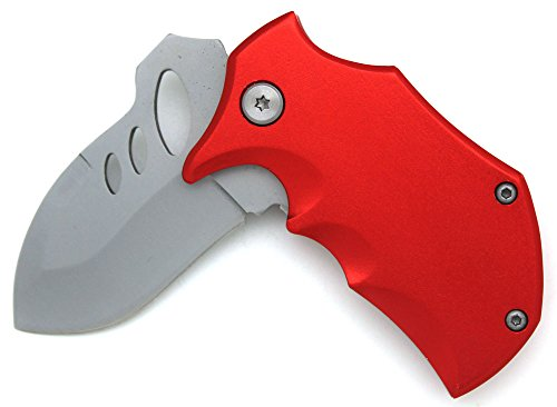 Snake-Eye-Fantasy-Action-Assisted-Opening-Folding-Pocket-Knife-3-RED-Closed-Everyday-Carry-Outdoors-Self-Defense