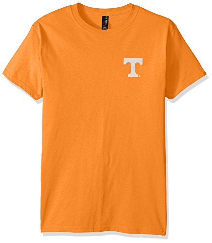 Tennessee Volunteers Ncaa Stripes - NCAA Tennessee Volunteers Adult NCAA Stripe Nation Short Sleeve, Tennessee Orange, Medium