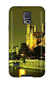 New Style StephanieShaw City Of Paris Premium Tpu Cover Case For Galaxy S5