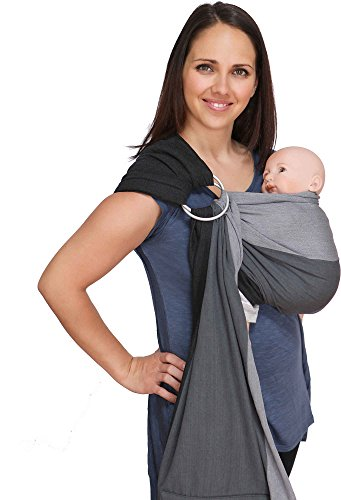 Fashion style How to maya wear wrap baby sling for lady
