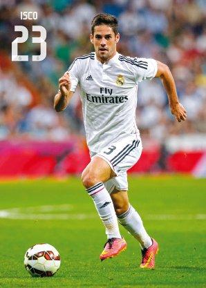 Postal Real Madrid Isco (Accion) 2014-15: Amazon.es: Juguetes Y Juegos