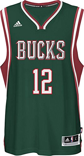 18a3cd0c747 Amazon.com   adidas Jabari Parker Milwaukee Bucks NBA Men s Green ...