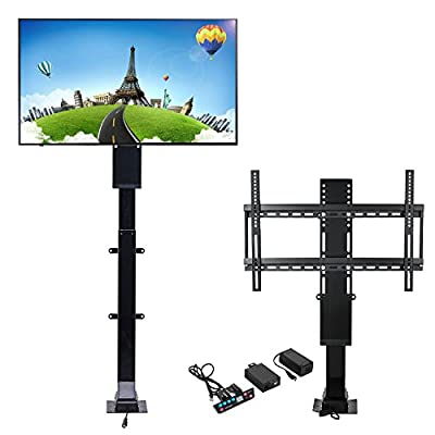 """Mophorn Motorized TV Lift Flat TV 1000mm TV Lift Mechanism Auto Lifting Adjustable Height with Wireless RF Remote Controller for Plasma LCD LED TV and Monitors (32""""-70"""")"""