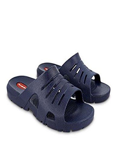 Okabashis Mens Eurosport Sandals (ML (Men 7.0 - 8.0), Navy)
