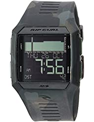 Rip Curl Mens Quartz Plastic and Polyurethane Sport WatchMulti Color (Model: A1128JUN1SZ)