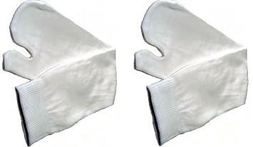 Par de Calcetines Blancos Japoneses Ninja Tabi - Tamaño Adulto - EU 40-44: Amazon.es: Deportes y aire libre