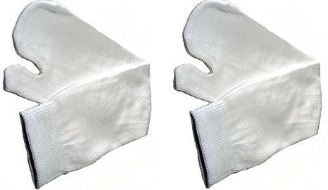 Par de Calcetines Blancos Japoneses Ninja Tabi - Tamaño ...