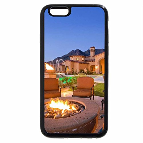 iPhone 6S / iPhone 6 Case (Black) A luxury house
