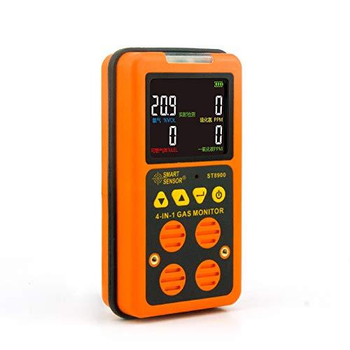 Smart ST8900 Carbon Monoxide CO Hydrogen Sulfide Oxygen Flammable Gas Four-in-one Tester by SMART (Image #4)
