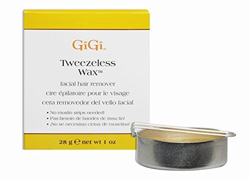 American Industries GiGi Tweezeless Wax Facial Hair Remov...