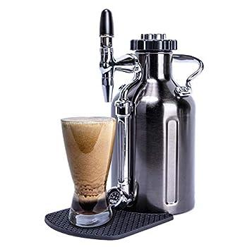 Image of GrowlerWerks uKeg Nitro Cold Brew Coffee Maker, 50 oz, Black Chrome Home and Kitchen