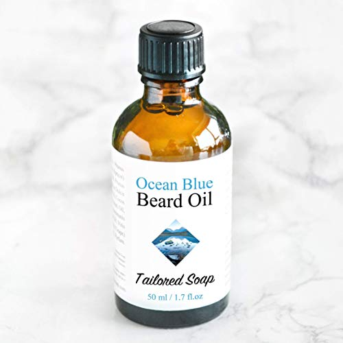 (Scented Beard Oil For Men, Growth and Strength, 1.7 oz 50 ml)
