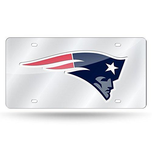 Laser Cut Tag - NFL New England Patriots Laser-Cut Auto Tag