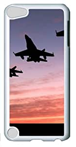 case good Jet Formation PC White Case for ipod touch 5/apple ipod