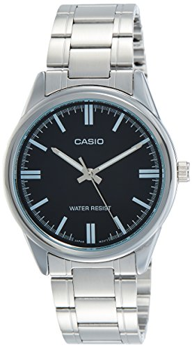 Casio MTP V005D 1A Stainless Steel Dress