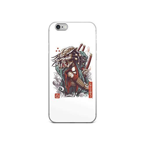 iPhone 6/6s Case Anti-Scratch Motion Picture Transparent Cases Cover Samurai Predator Movies Video Film Crystal Clear ()