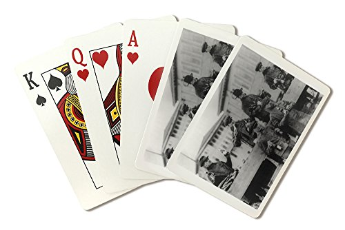 Beer Captured Enroote to Chicago - Zion City Photograph (Playing Card Deck - 52 Card Poker Size with Jokers)