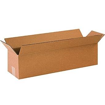 Caja Estados Unidos B1233 largo cajas de cartón, 12