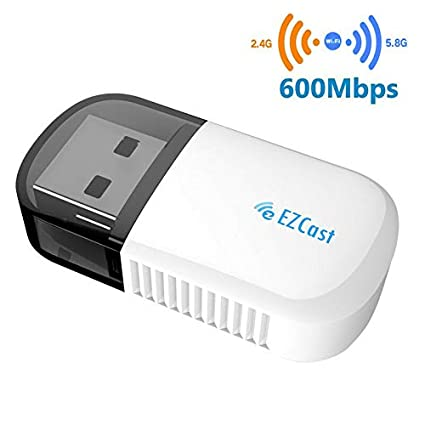 ZHOUXING Adaptador WiFi USB de Largo Alcance, Receptor de ...