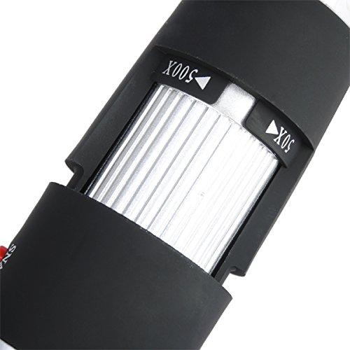 Digital Microscope USB 8 LED 50X-500X 2MP Endoscope Magnifier Video Camera by Eramaix (Image #6)