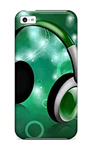 Quality CaseyKBrown Case Cover With Musical Party Nice Appearance Compatible With Iphone 5c