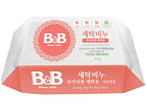 [B&B] b&b Laundry Soap for Baby Clothing (Chamomile) - 200g