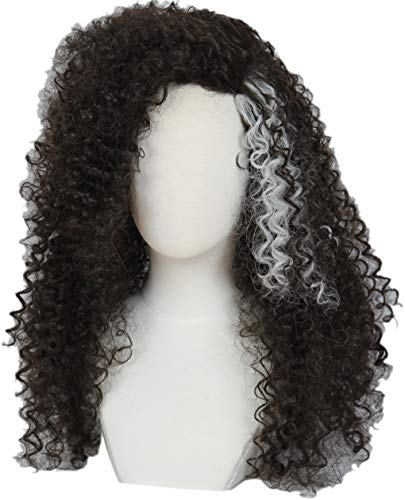 Linfairy Long Afro Curly Wig Halloween Cosplay