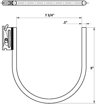 E Track Hooks SM2 Cargo Equipment Corp